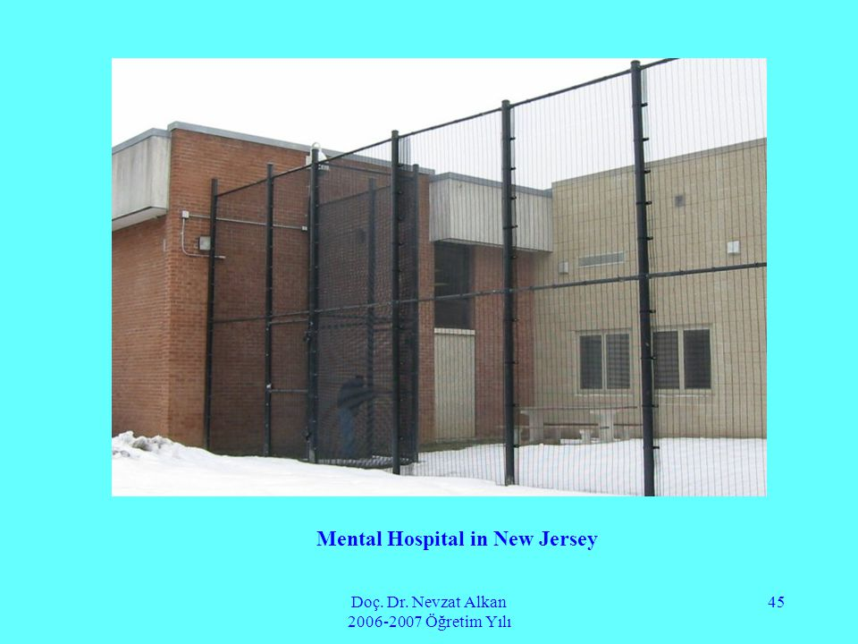 Mental Hospital in New Jersey
