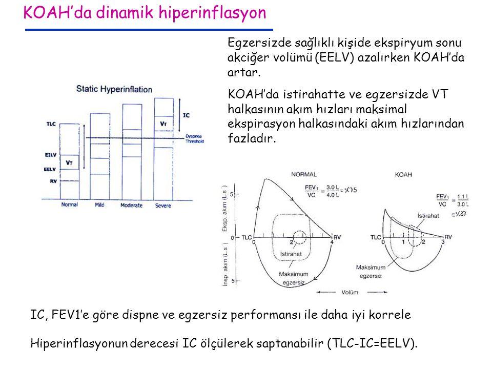KOAH'da dinamik hiperinflasyon