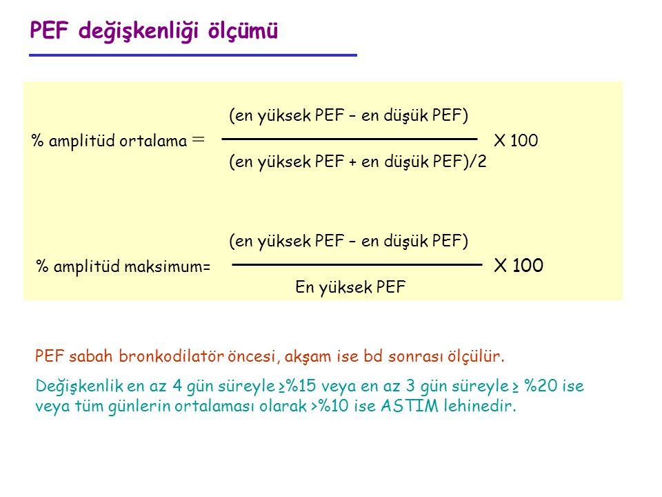 PEF değişkenliği ölçümü