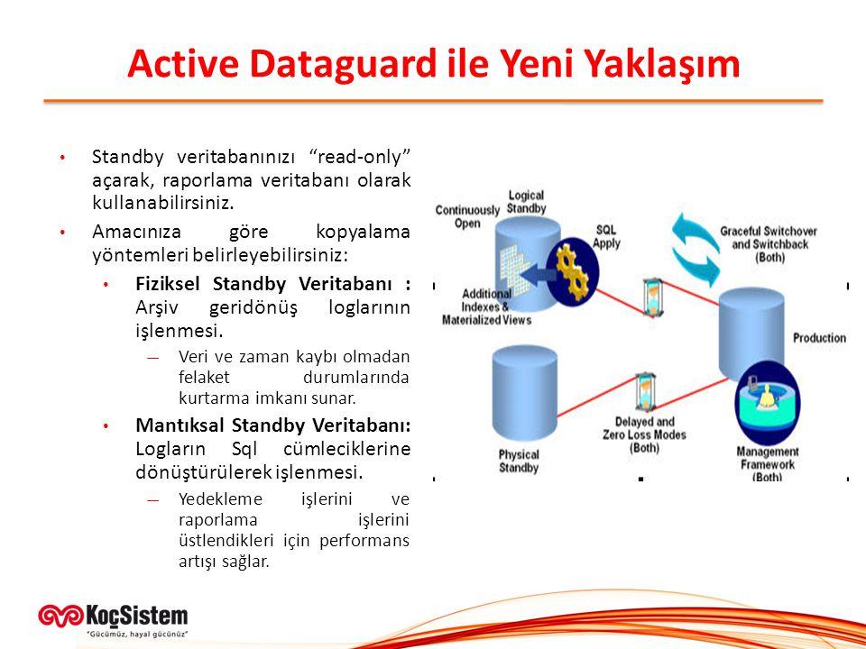 Active Dataguard ile Yeni Yaklaşım
