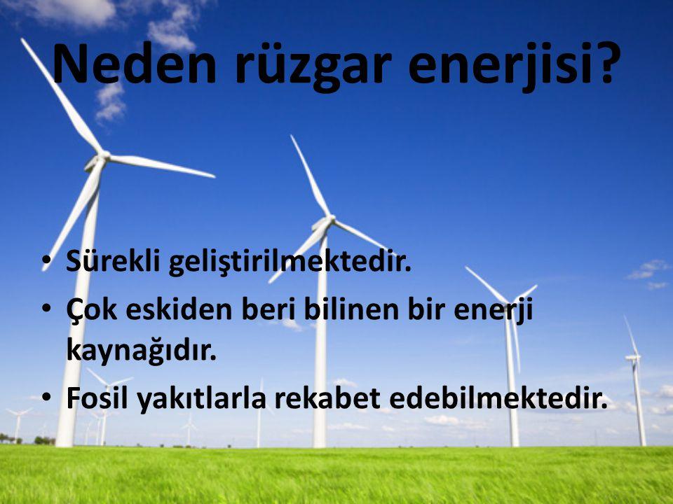 Neden rüzgar enerjisi Sürekli geliştirilmektedir.