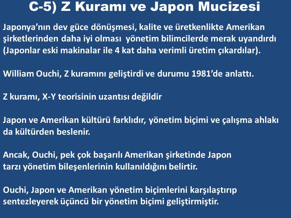 C-5) Z Kuramı ve Japon Mucizesi