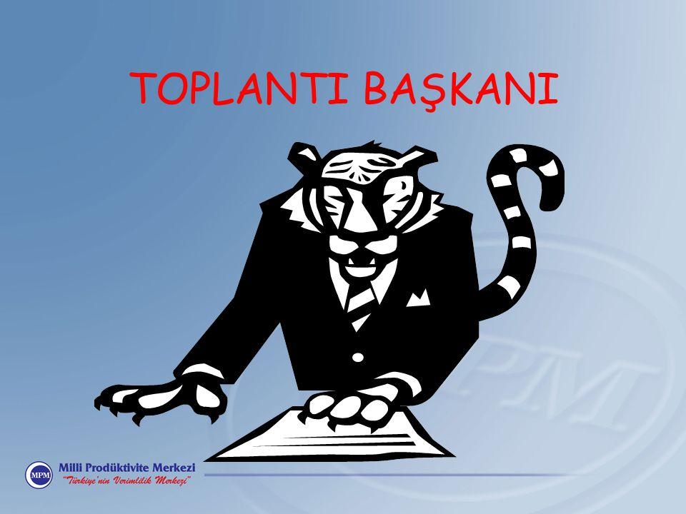 TOPLANTI BAŞKANI