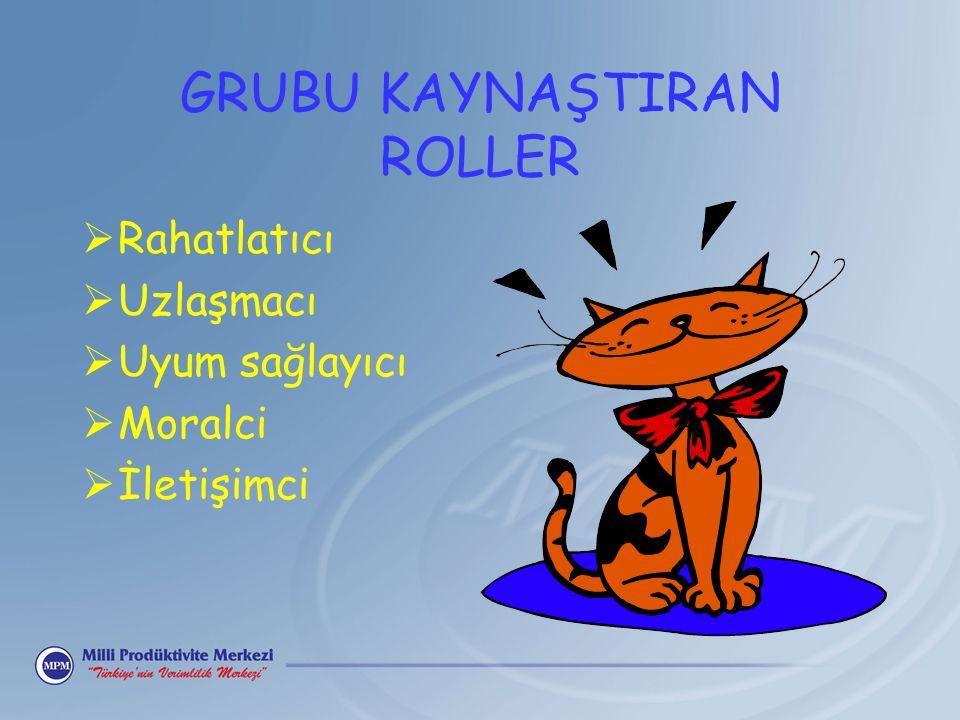 GRUBU KAYNAŞTIRAN ROLLER