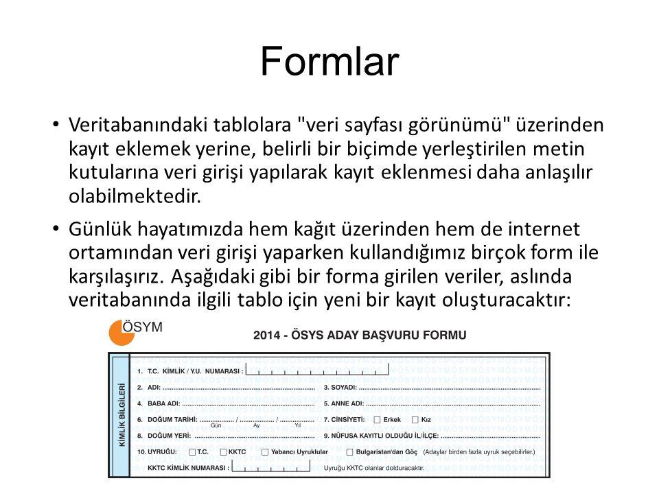 Formlar