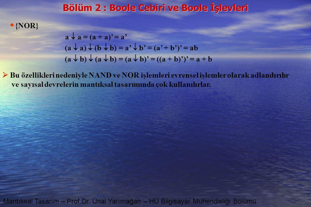 (a  a)  (b  b) = a'  b' = (a' + b')' = ab