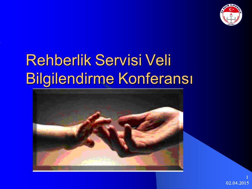 Rehberlik Servisi Veli Bilgilendirme Konferansı
