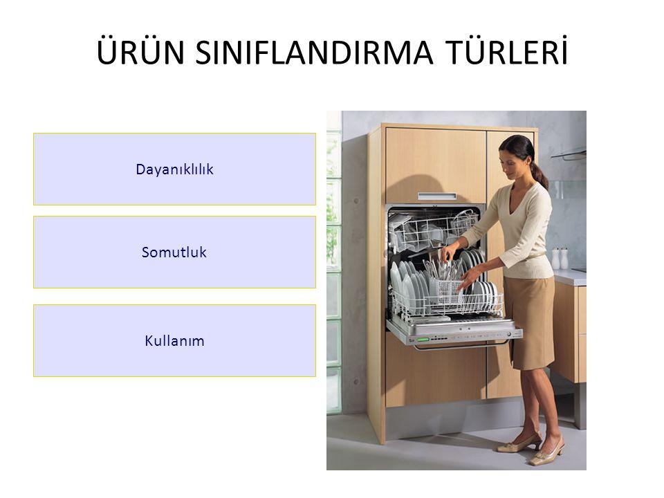 ÜRÜN SINIFLANDIRMA TÜRLERİ