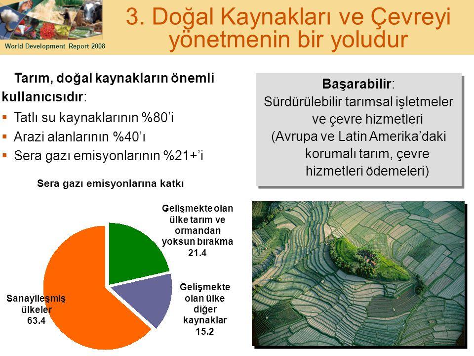 3. Doğal Kaynakları ve Çevreyi yönetmenin bir yoludur