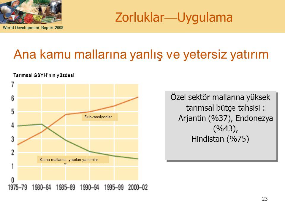 Ana kamu mallarına yanlış ve yetersiz yatırım