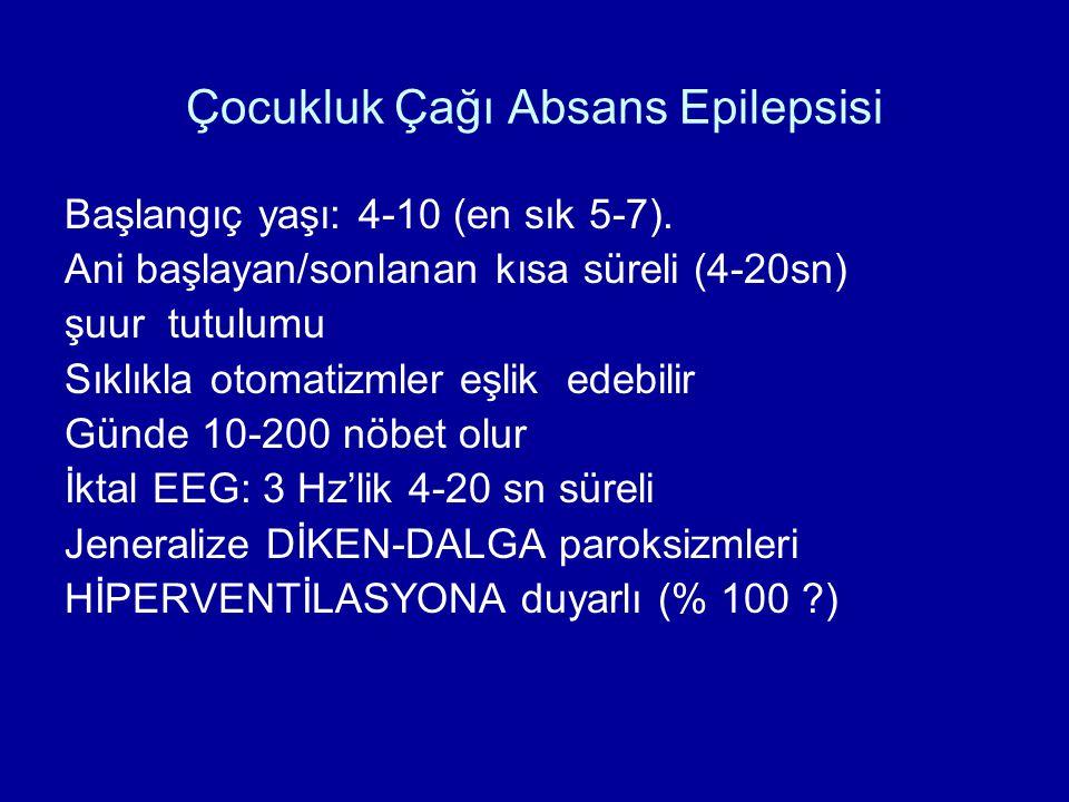 Çocukluk Çağı Absans Epilepsisi