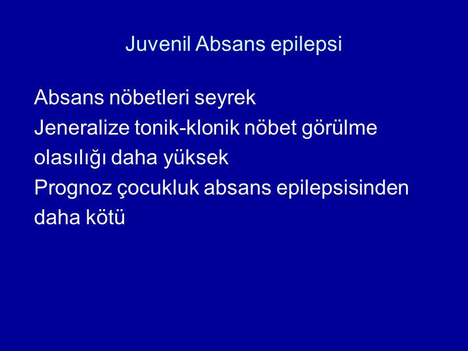 Juvenil Absans epilepsi