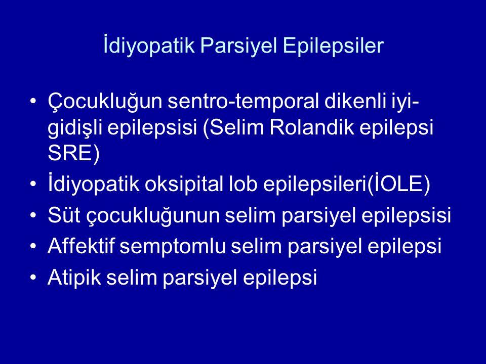İdiyopatik Parsiyel Epilepsiler