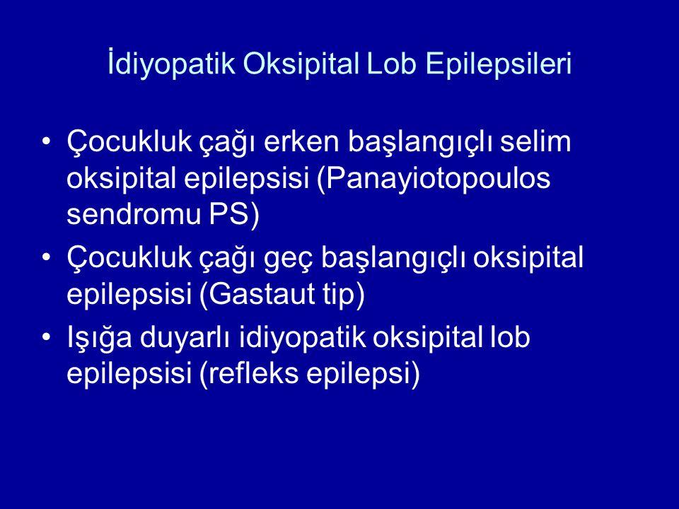 İdiyopatik Oksipital Lob Epilepsileri