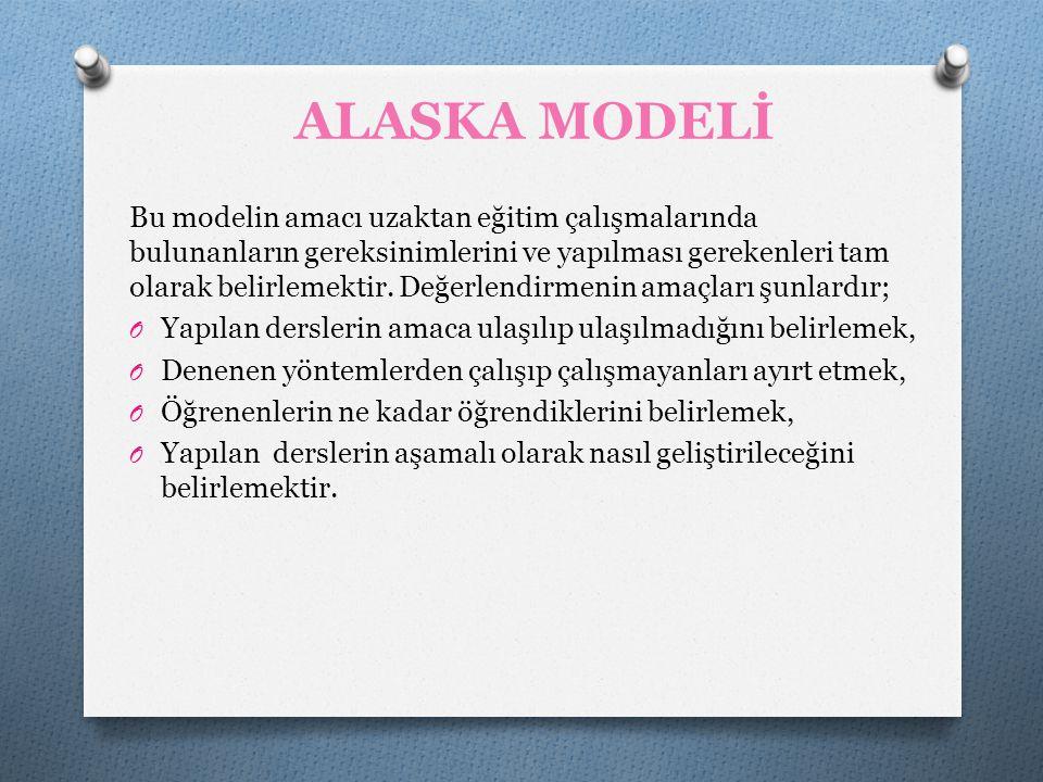 ALASKA MODELİ