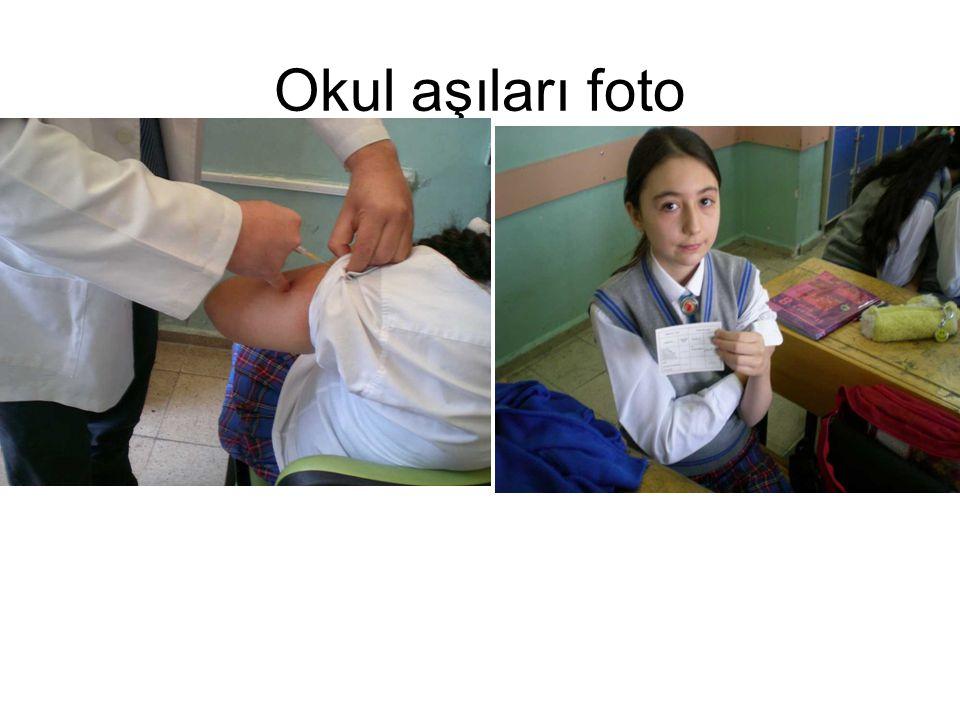 Okul aşıları foto