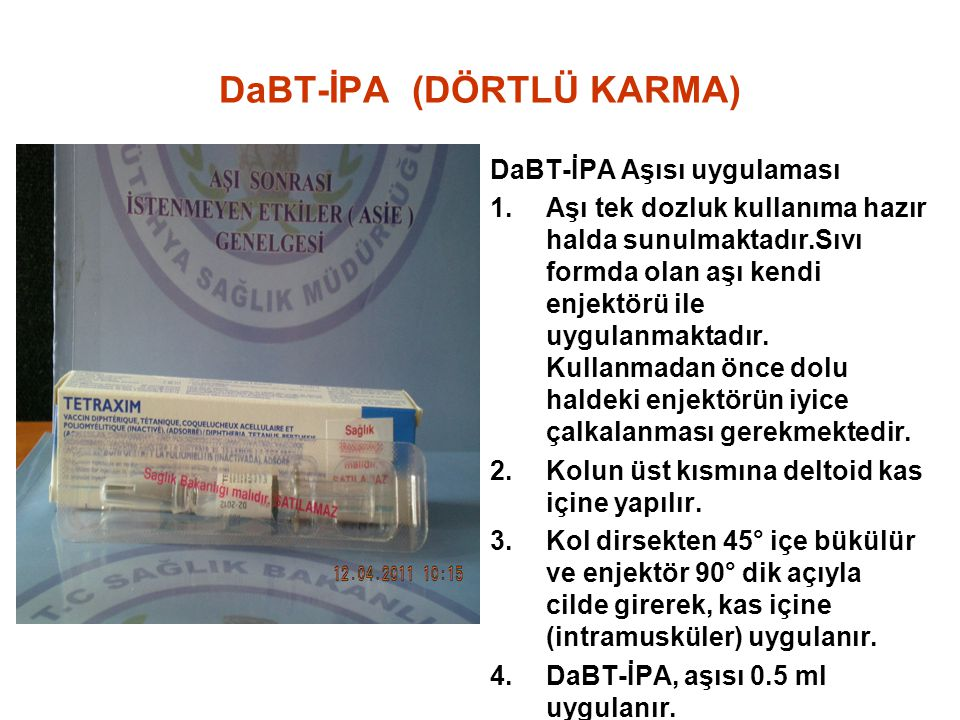 DaBT-İPA (DÖRTLÜ KARMA)
