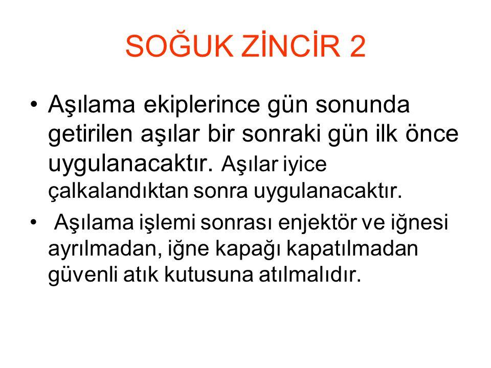 SOĞUK ZİNCİR 2