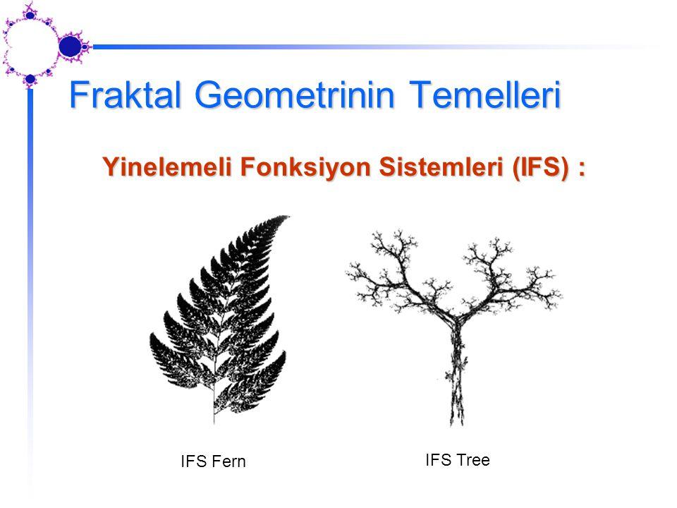 Fraktal Geometrinin Temelleri