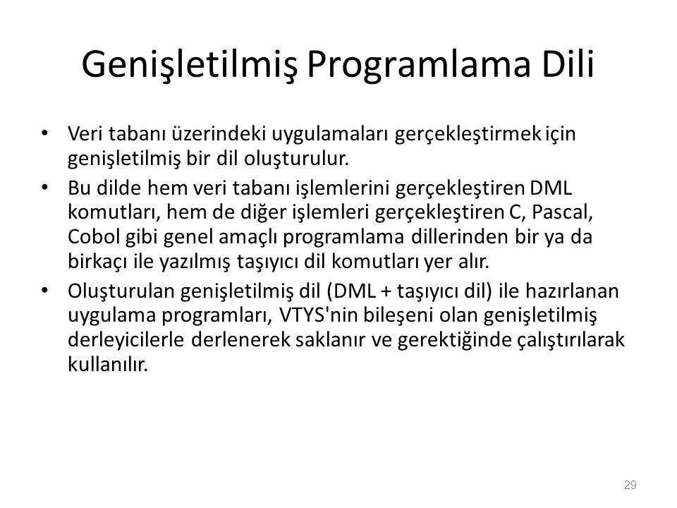 Genişletilmiş Programlama Dili