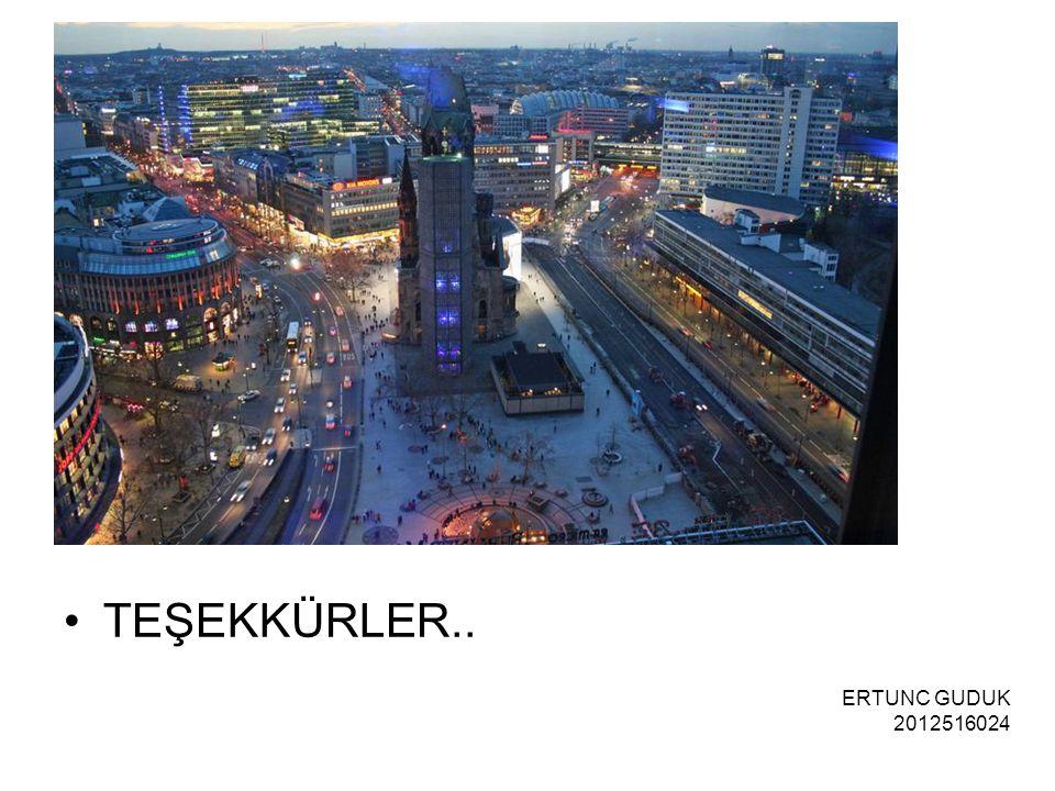 TEŞEKKÜRLER.. ERTUNC GUDUK 2012516024
