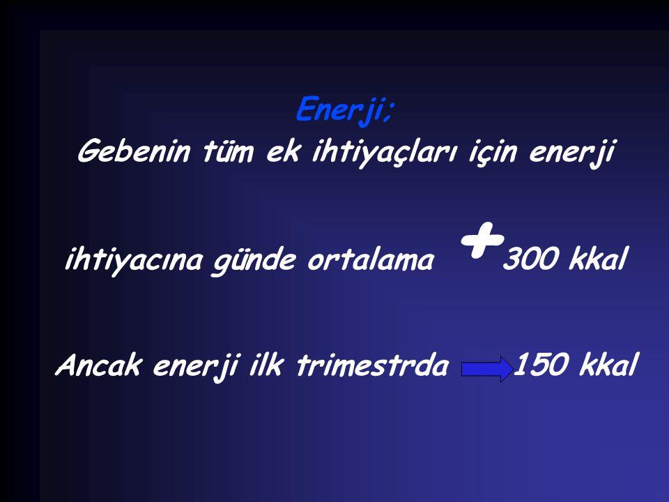 Gebenin tüm ek ihtiyaçları için enerji