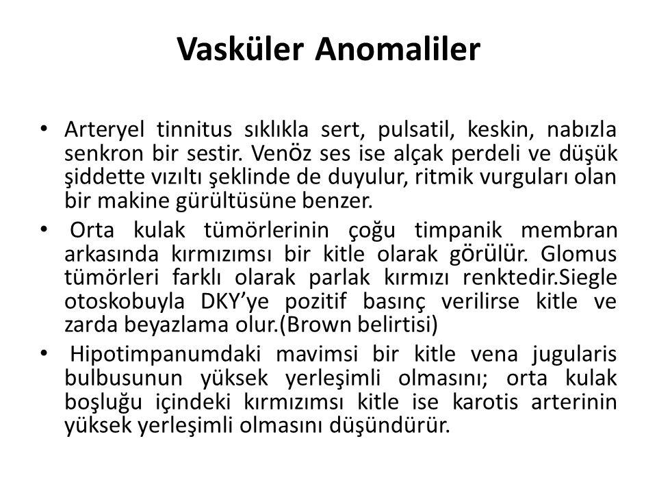 Vasküler Anomaliler