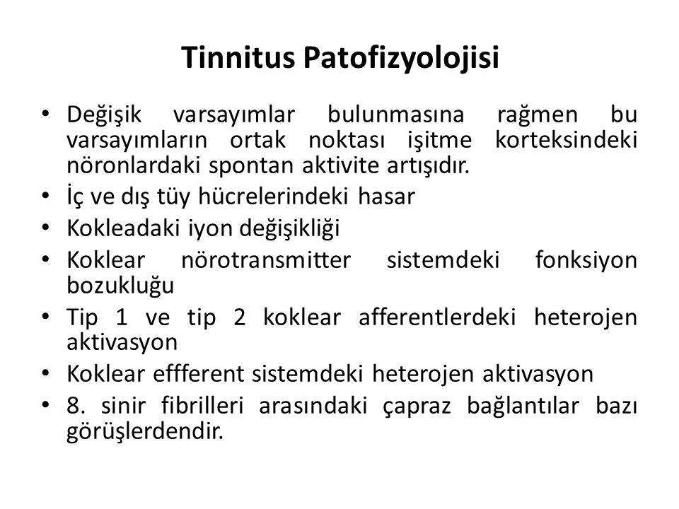 Tinnitus Patofizyolojisi