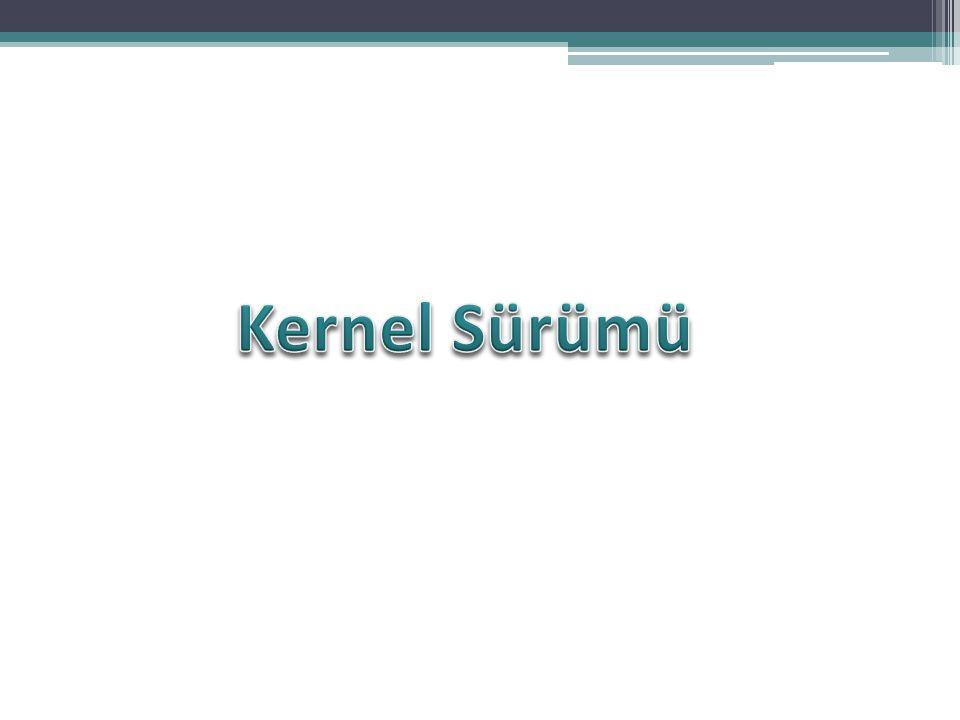 Kernel Sürümü