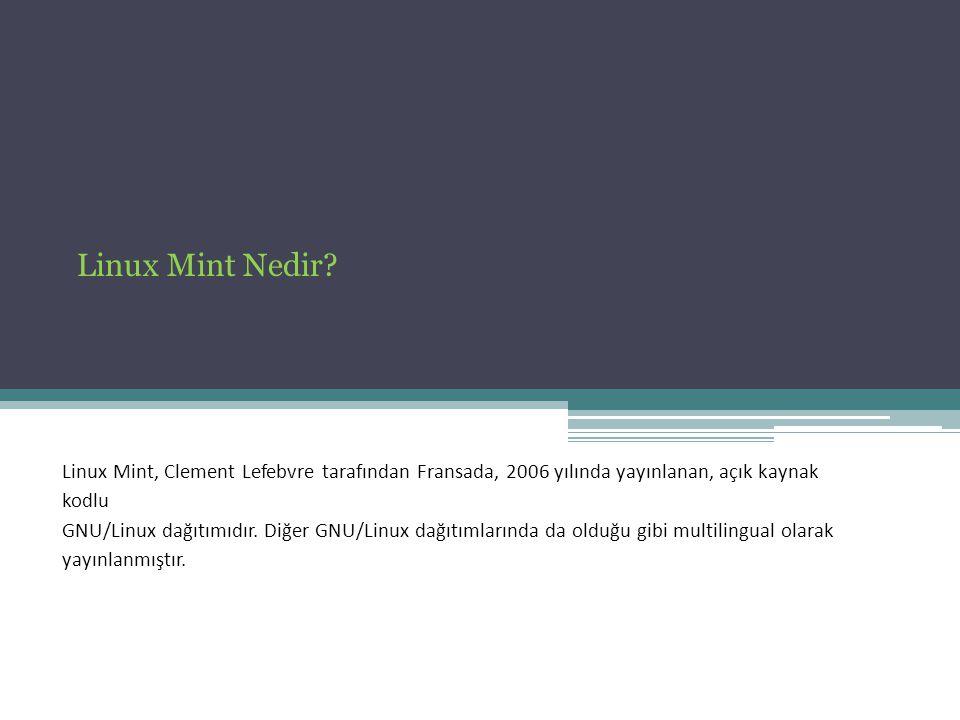 Linux Mint Nedir