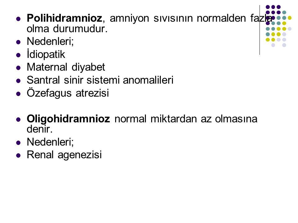 Polihidramnioz, amniyon sıvısının normalden fazla olma durumudur.