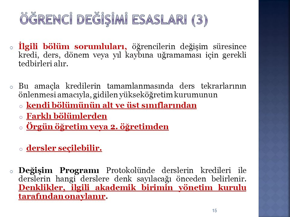 Öğrencİ değİşİmİ esaslarI (3)