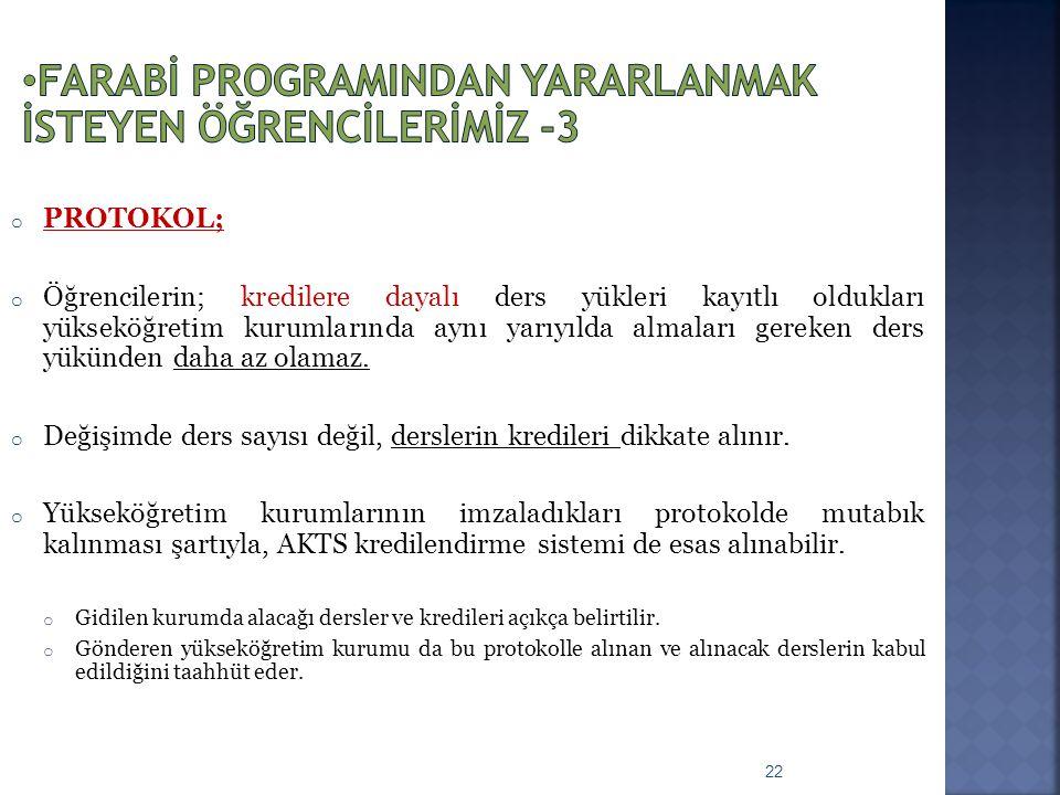 Farabİ ProgramIndan yararlanmak İsteyen öğrencİlerİmİz -3