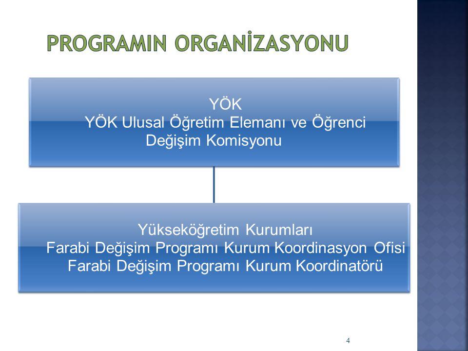 ProgramIn Organİzasyonu