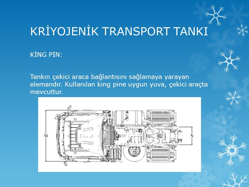 KRİYOJENİK TRANSPORT TANKI
