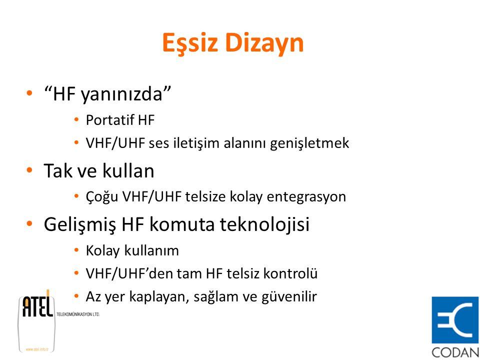 Eşsiz Dizayn HF yanınızda Tak ve kullan