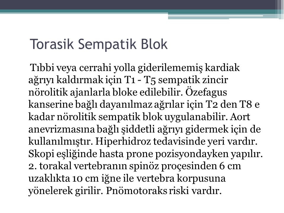 Torasik Sempatik Blok
