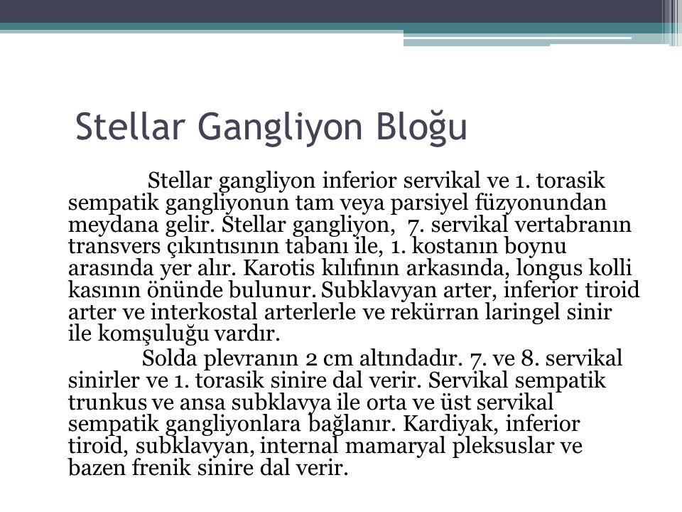 Stellar Gangliyon Bloğu