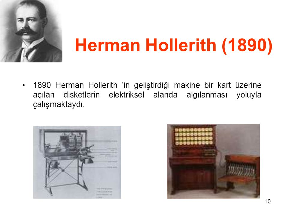 Herman Hollerith (1890)