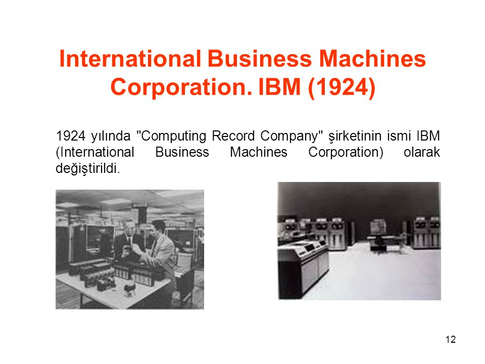 an introduction to the international business machines corporation the big blue News about international business machines news about international business machines corporation  four big banks announce fourth-quarter results.