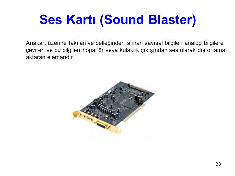 Ses Kartı (Sound Blaster)