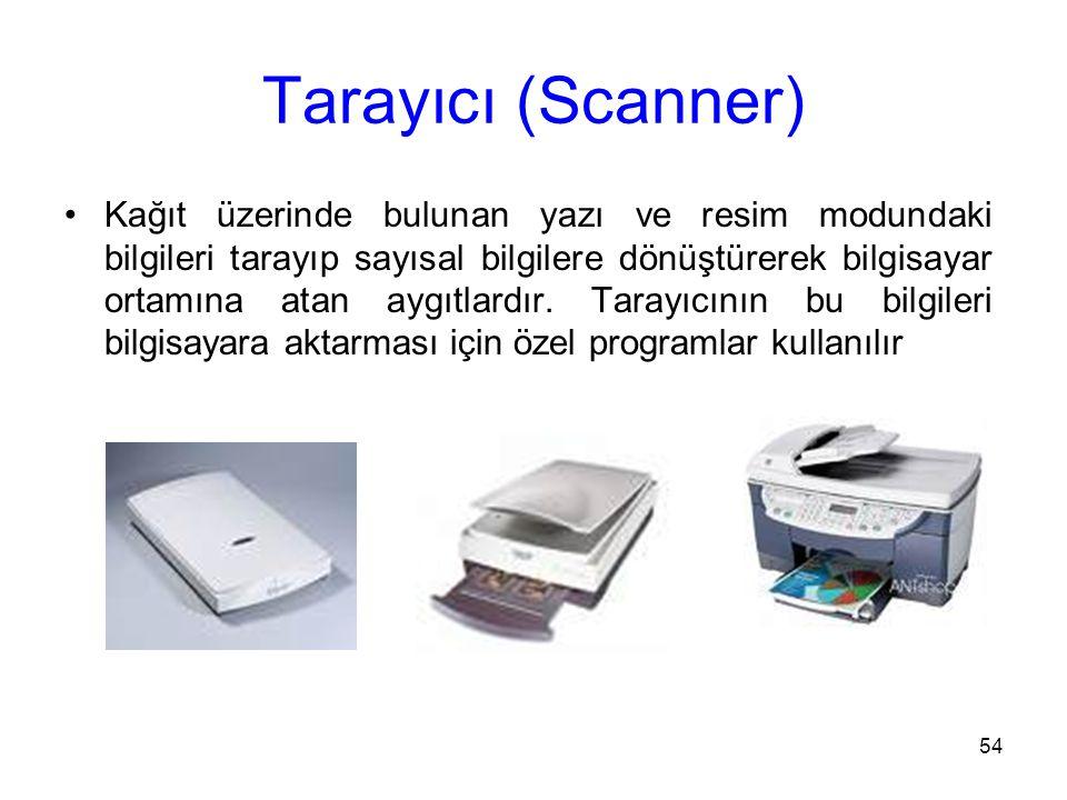Tarayıcı (Scanner)