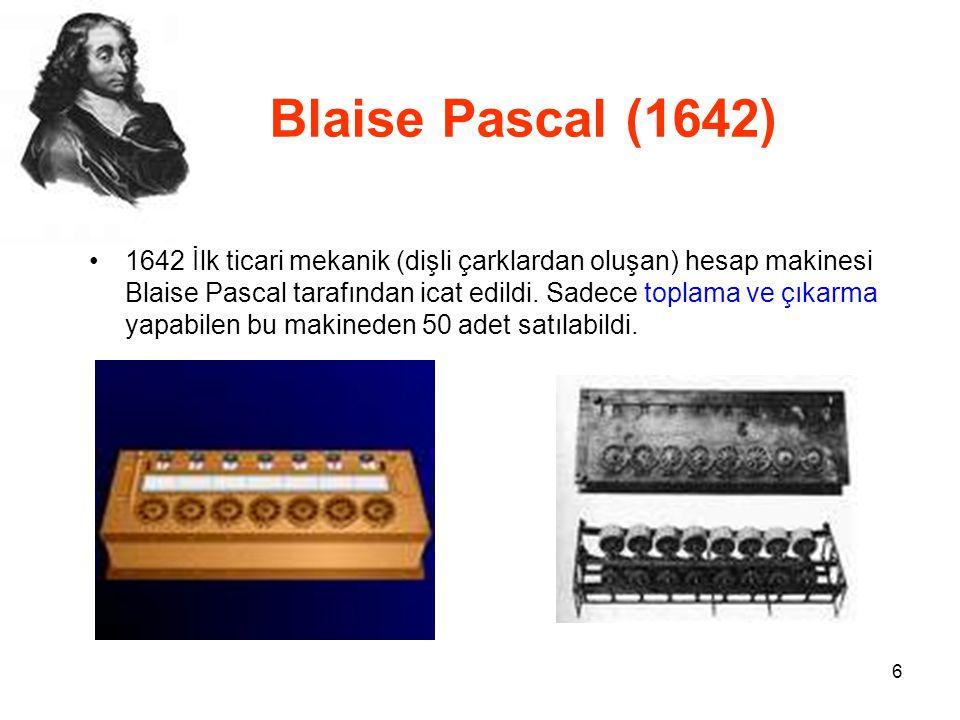 Blaise Pascal (1642)