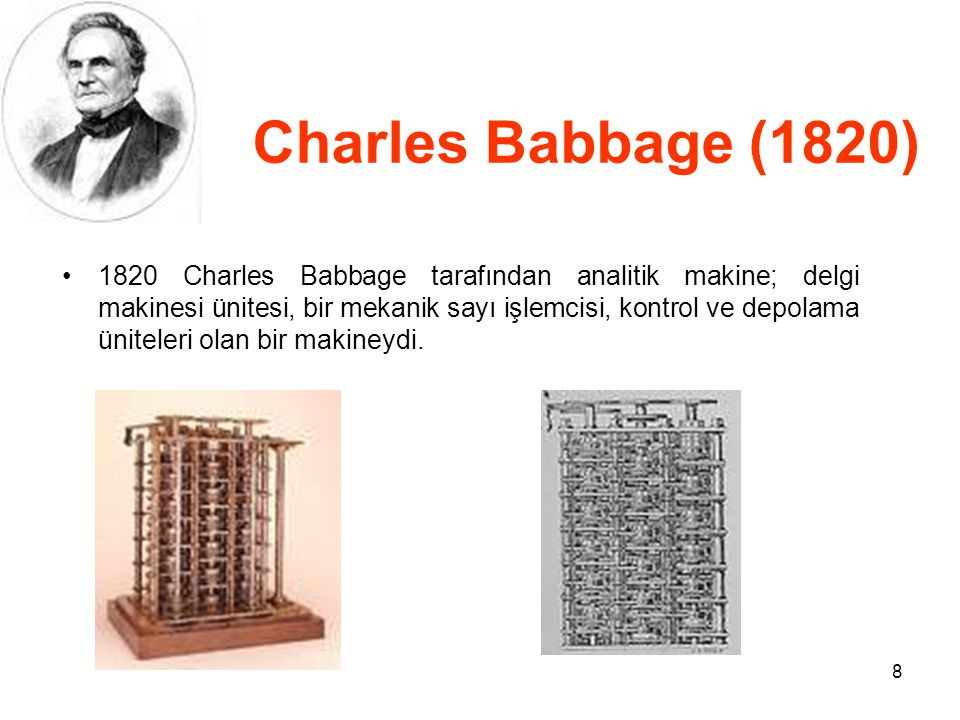 Charles Babbage (1820)