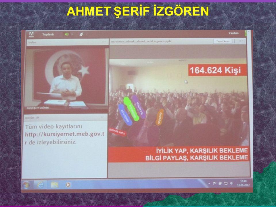 AHMET ŞERİF İZGÖREN