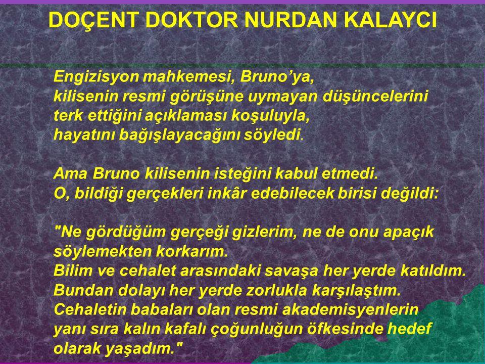 DOÇENT DOKTOR NURDAN KALAYCI