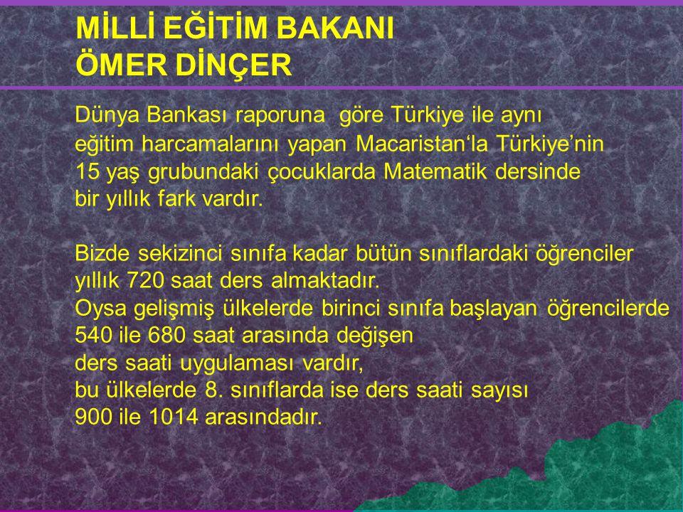Dünya Bankası raporuna göre Türkiye ile aynı