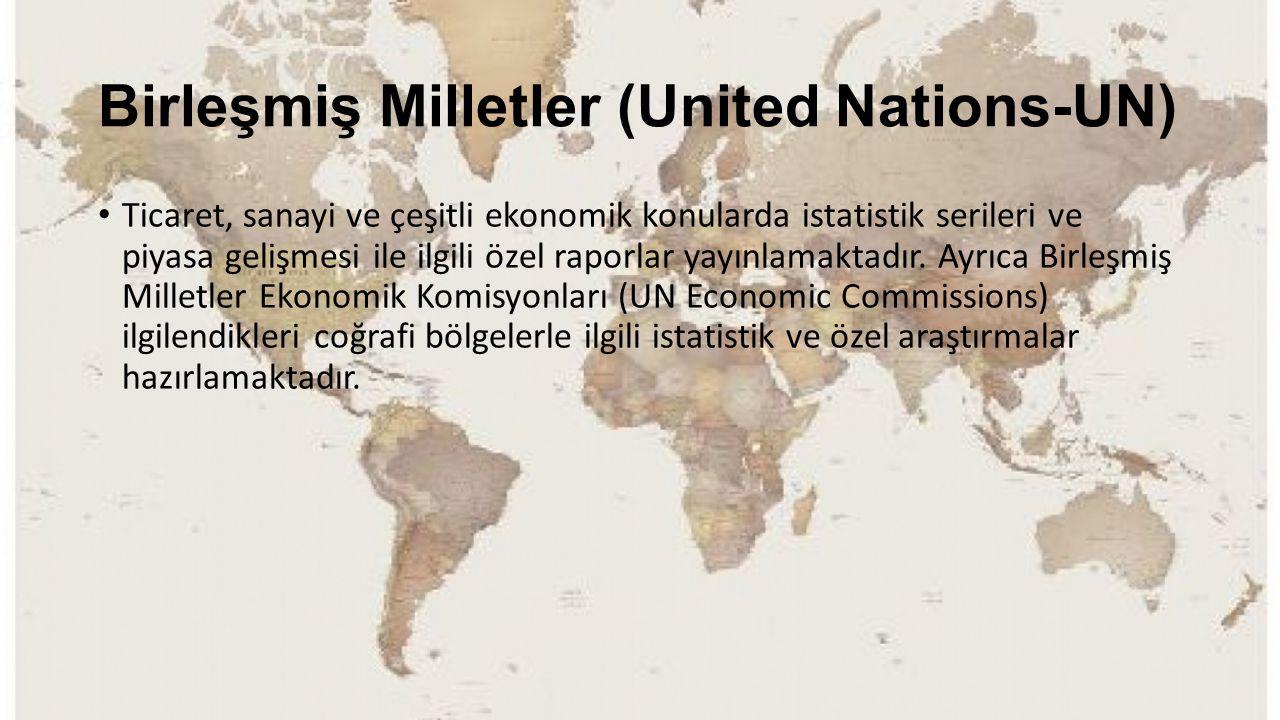 Birleşmiş Milletler (United Nations-UN)