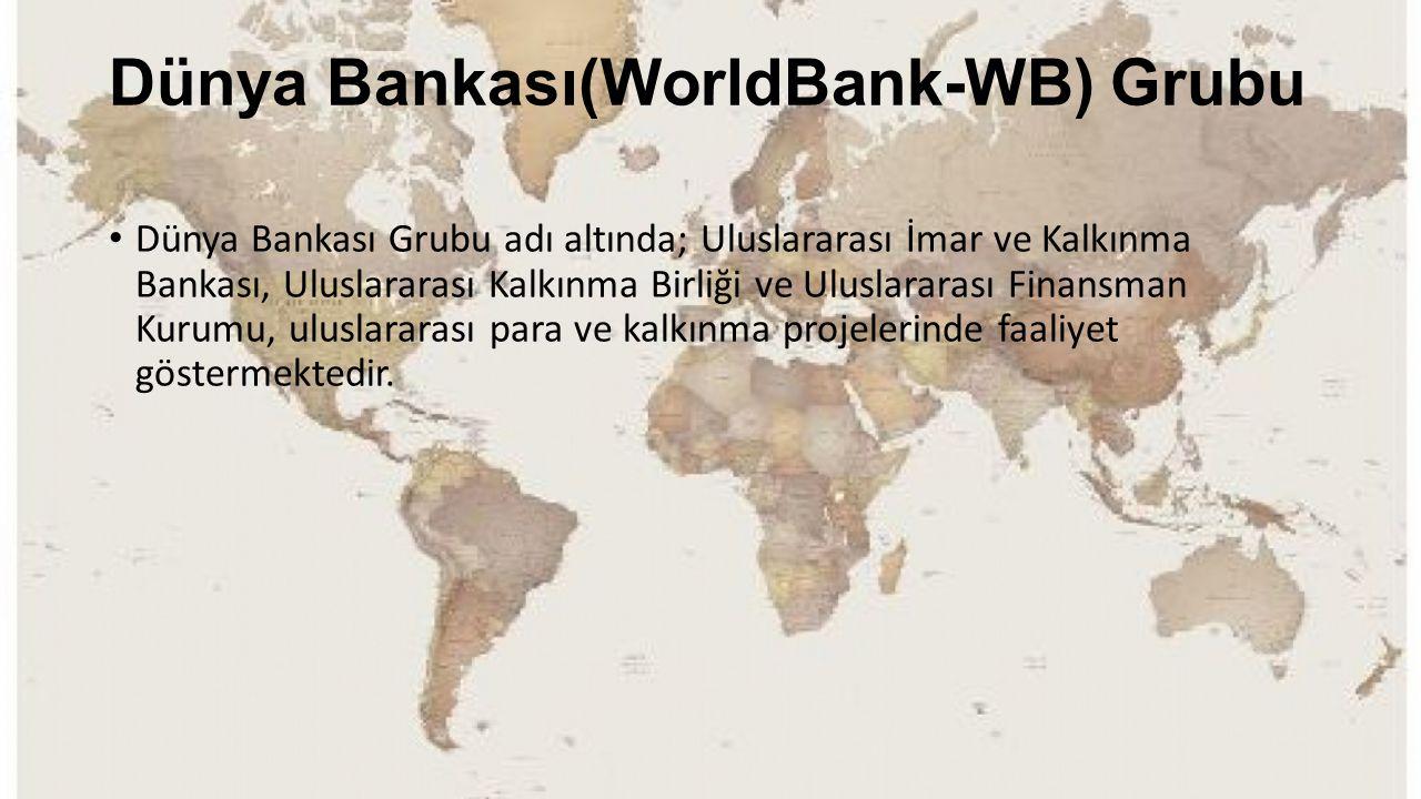 Dünya Bankası(WorldBank-WB) Grubu