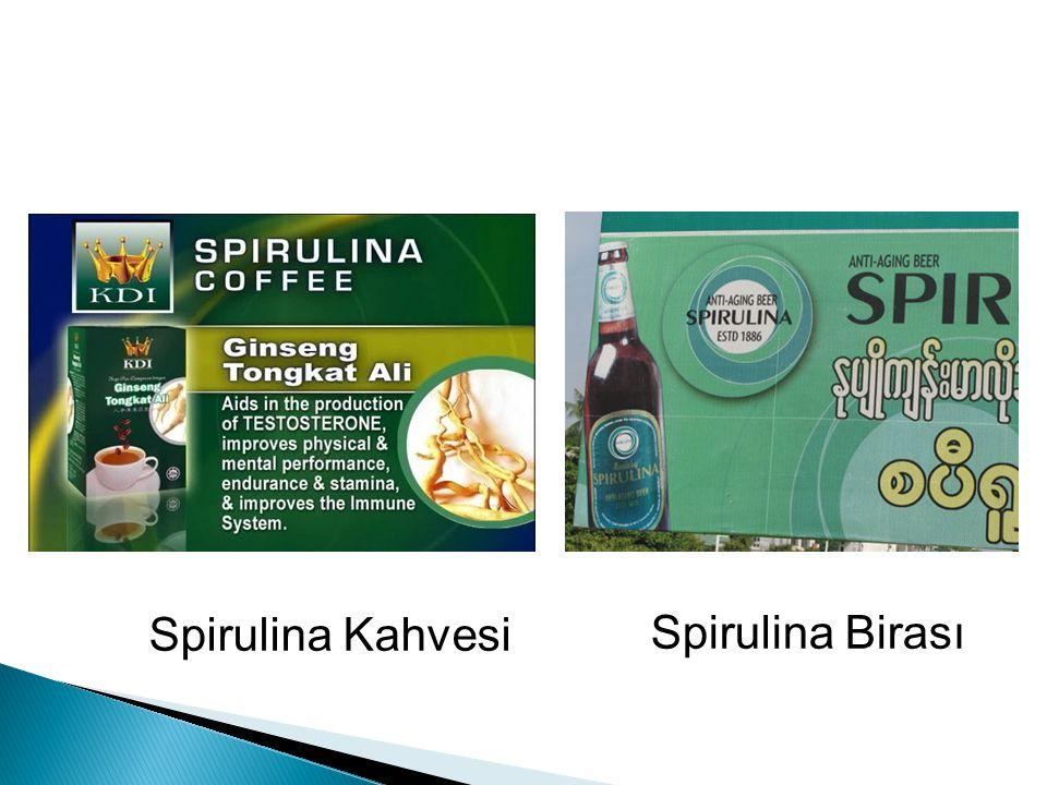Spirulina Kahvesi Spirulina Birası